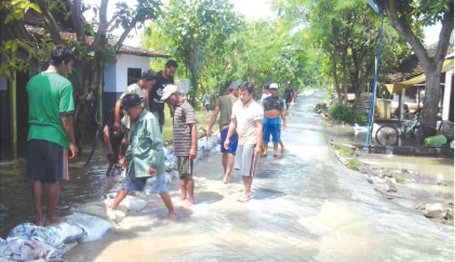 Banjir di Jabon Meluas