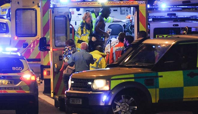 Teror London, Tujuh Tewas