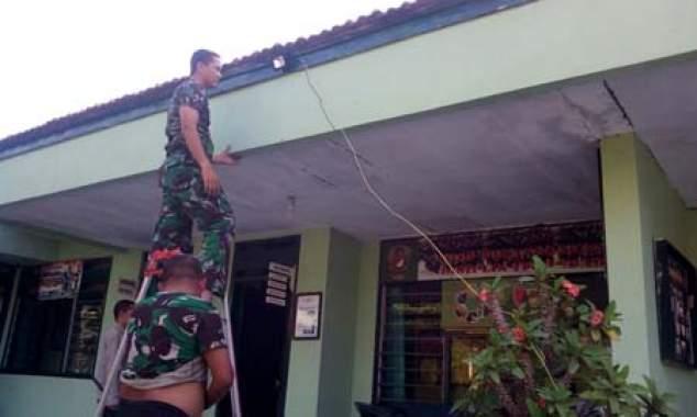 Antisipasi Teror, Kodim Bangkalan Pasang CCTV