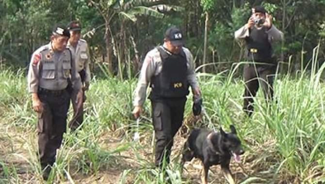 Kasus Pembunuhan di Jombang, Polisi Kerahkan Anjing Pelacak