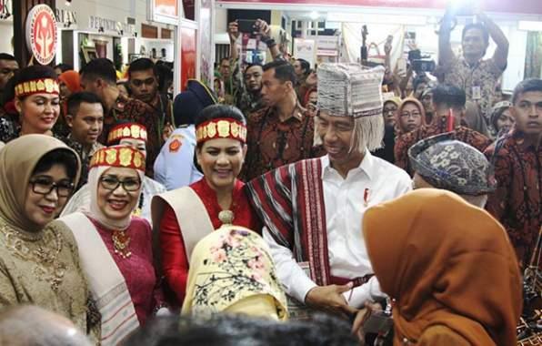 Presiden Apresiasi Karya Seni Binaan Dekranasda Jatim