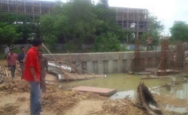 Sidak Proyek Rumah Pompa, Komisi III Temukan Banyak Kejangga