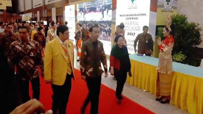 Munaslub Golkar Dihadiri Jokowi-JK, Megawati dan Habibie