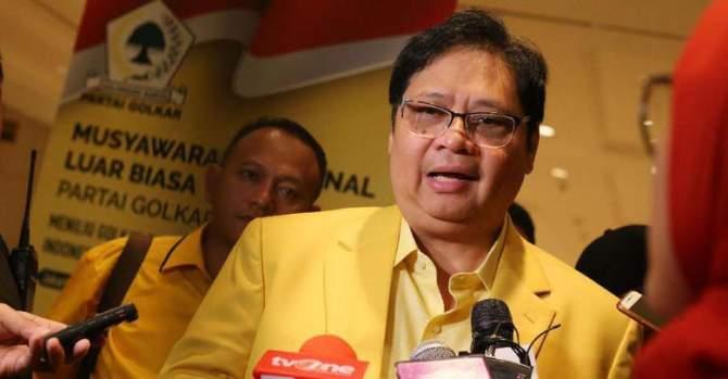 Aklamasi, Airlangga Ketua Umum Golkar