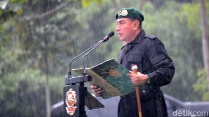 Panglima TNI Anulir Mutasi 16 Pati