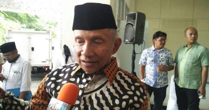 Pilgub Riau, Amien Rais Deklarasikan Syamsuar-Edy