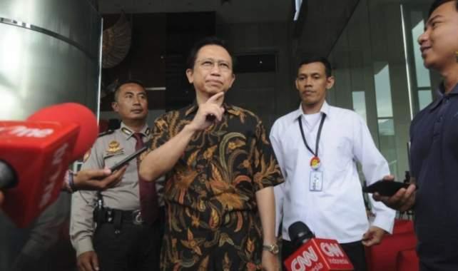 Marzuki Alie Tantang Hakim Buktikan Penerimaan Duit Haram E-