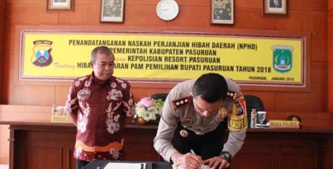 Pengamanan Pilkada, Pemkab Pasuruan Alokasikan Rp 6,410 M