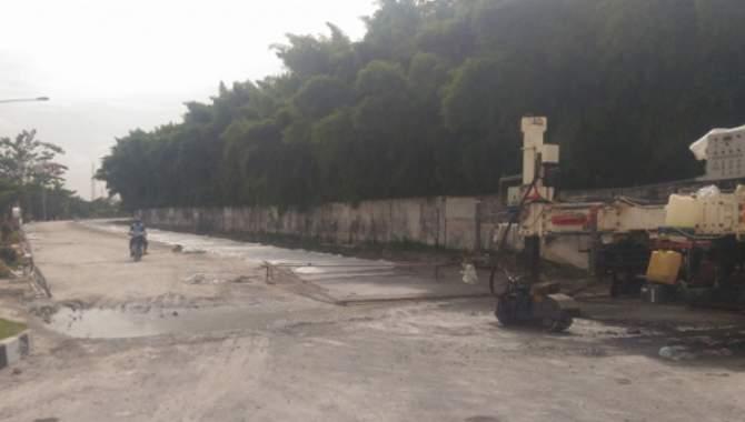 Pemkab Beri Tenggat Waktu Penyelesaian Jalan Beton