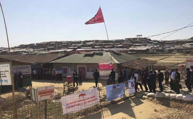 Presiden Jokowi Temui Pengungsi Rakhine State