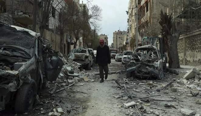 Gempuran di Ghouta Masih Berlanjut