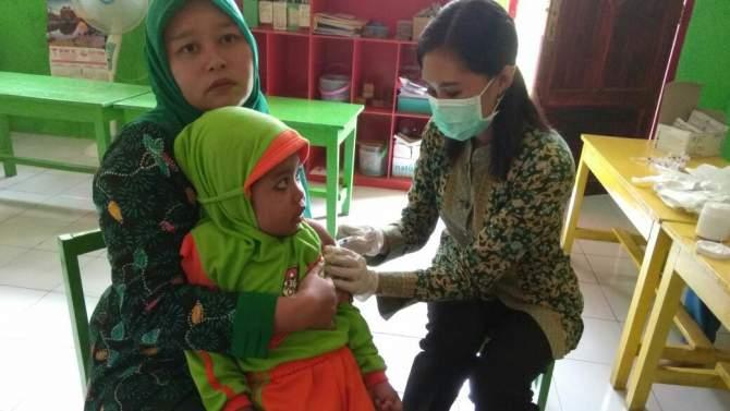 Pemberian Vaksin Difteri Capai 92 Persen