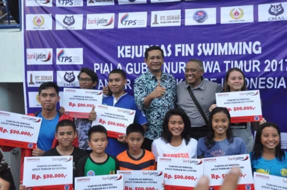 Pengprov POSSI Gelar Kejurda Fin Swimming 2018