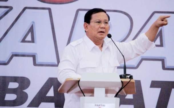 Prabowo Didesak Ungkap Elite Goblok dan Maling