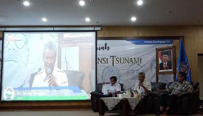 Potensi Tsunami 57 Meter, Pakar ITB: Perlu Penelitian Lanjut
