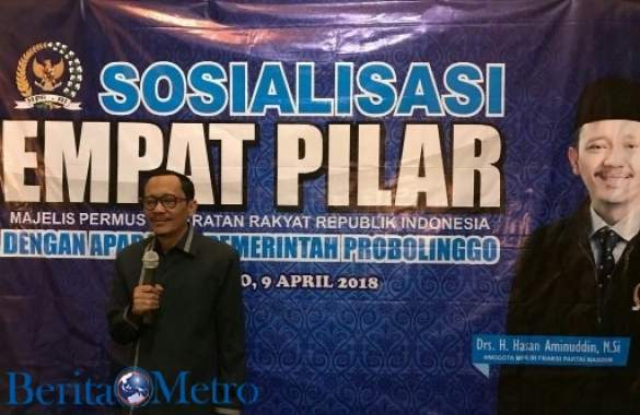 H Hasan Aminuddin Ajak Warga Jaga Keutuhan NKRI