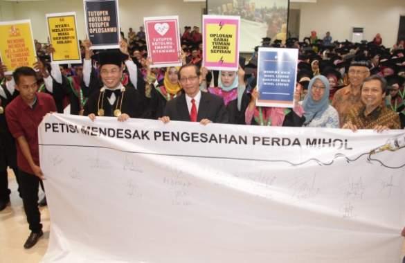 UMSurabaya Dorong Pemkot Keluarkan Perda Mihol