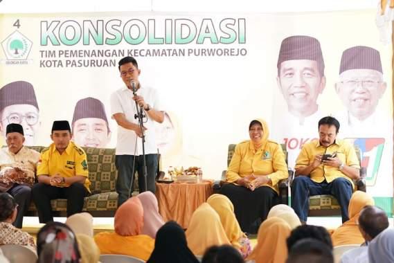 Misbakhun Ajak Emak-emak Jaring Suara untuk Jokowi - Ma'ruf