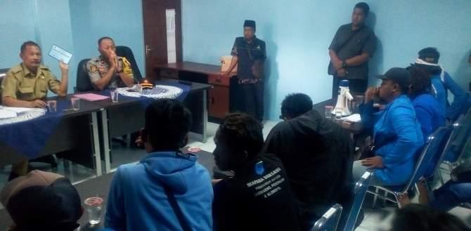 Bantuan BPNT Dianggap TakMerata,Mahasiswa PMII Unisda Protes